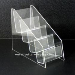 Acrylbroschüre-Halter-Fußboden-Standplatz für Zeitung oder Zeitschrift (BTR-H6005)