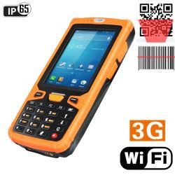 3,5 polegadas, leitor de código de barras de núcleo quádruplo Android 3G Telefone PDA