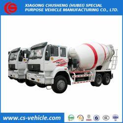 Auto diesel di HOWO che carica la betoniera utilizzata camion cubico della betoniera dei 10 tester da vendere