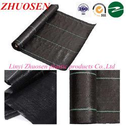 La Chine usine la vente en gros la couverture de sol noir PP Anti/tapis de mauvaises herbes
