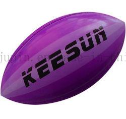 PU de alta calidad OEM del Fútbol Americano el Rugby balón para coincidir con