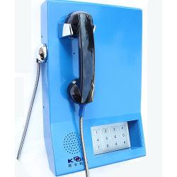 Banco de polvo de los servicios de metro teléfono teléfono VoIP llamada de emergencia de verificación