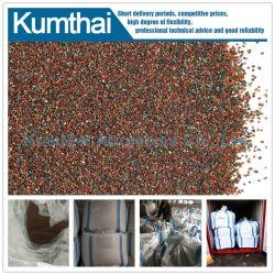 Le grenat abrasifs naturels de grande qualité pour le sablage au jet de sable de découpe jet d'eau