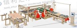 工場直接プッシュテーブル鋸、両面ライトウッドワーキングスプリット鋸、石膏シート、 4 サイドソー、カスタム自動トリム鋸