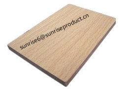 قشرة زينية من الجلد بلون البلوط الطبيعي من خشب الصنوبر من خشب البلوط الطبيعي HPL من الألومنيوم MDF