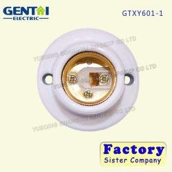 Supporto di ceramica della lampada della porcellana E27 per la base dell'indicatore luminoso della lampadina