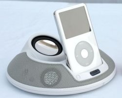 원격 제어를 가진 Ipod를 위한 UFO 작풍 스피커 (I706)