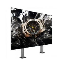 China Venta caliente de 46 pulgadas LCD de 4K el panel de pared de vídeo 4X5 de 1,7 mm de pared de vídeo portátil perfecta para el centro financiero