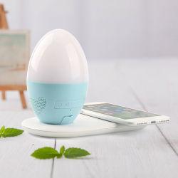 3 in 1 Qi-drahtloser Aufladeeinheit mit Bluetooth Speaker
