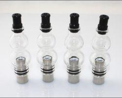 2013 Nouveau produit globe de verre de vaporisateur de cire d'arrivée, de la calebasse forme, la cire d'herbe sèche vaporisateur, ampoule de verre vaporisateur avec embout de goutte à goutte amovible
