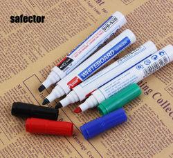 Dell'inchiostro cancellabile della penna de grande capacità di Whiteboard penna rossa e blu a base d'acqua dell'ufficio d'istruzione e riutilizzabile della lavagna