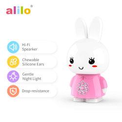 Alilo niños el aprendizaje de los juguetes con 8GB TF de juguetes, música, la grabación de voz, la historia de la hora de acostarse, las canciones - Honey Bunny