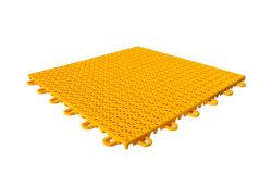 Pp sospesi che collegano le mattonelle di pavimentazione per la pavimentazione esterna del campo da pallacanestro