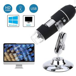 WiFi USB Microscopio digital 1000X Microscopio de bolsillo para Smartphone