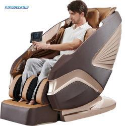 Лучше всего Ningdecrius 4D ноль тяжести всего тела или SL контактного разъема электродвигателя стеклоподъемника роскошь управление 3D-кресло складная шиатсу дешевой цене массажное кресло