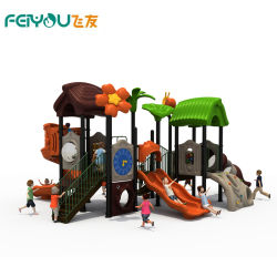 Feiyou Bosque Más Reciente Tema Niños Parque infantil exterior de plástico de los elementos de equipamiento para la venta
