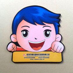 regalo de promoción de forma irregular para el logotipo impreso posavasos