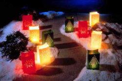 Saco de velas Tealight, saco, Luminary Saco de papel (K2)