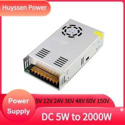 Transformador de 600W 110V/220V a 24VDC 25una única fuente de alimentación de conmutación de salida S-600-24
