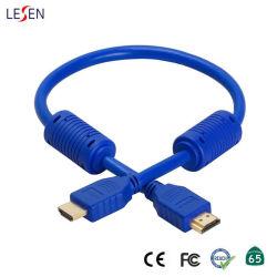 파란 이더네트 HDMI 케이블을%s 가진 5m 우수한 고속