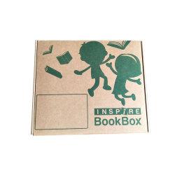 Cartón de alta calidad caja de embalaje de papel de embalaje para el libro