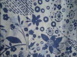 A roupa de cama/viscose tecido misto
