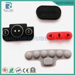 자물쇠를 위한 OEM에 의하여 주문을 받아서 만들어지는 플라스틱 실리콘고무 회의 키패드