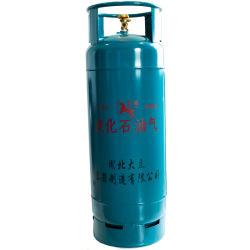 Cilindro de GLP portátil 50kg do Cilindro da válvula de dupla 118L Enchimento para exportar