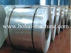 Las bobinas de chapa de acero galvanizado de Bohai