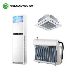 格子DC48V電池12000BTU 18000 BTU 750W 1kw 2kw 3kwの太陽エアコンを離れた2020ハイブリッドエネルギー