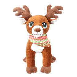 Großhandel gefüllte Tier benutzerdefinierte Cartoon Weihnachten Plüsch Hirsch Spielzeug für Kinder
