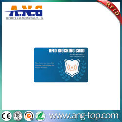 La no-LED Bloqueador tarjeta RFID RFID tarjeta bloqueo