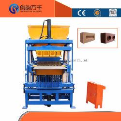 ماكينة صناعة الطوب الإسمنجمنت من الطين في الهند من Syn4-5 مصنع صناعة الطوب الآلي بالكامل