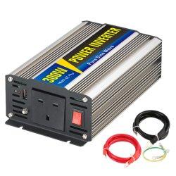 Haus verwendeter Energien-Inverter 12V/220V mit BRITISCHEM Stecker 300W