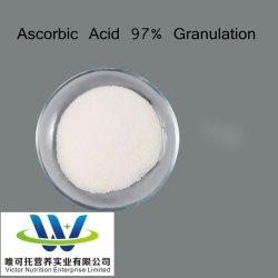 La vitamina C DC97, Ácido ascórbico 97% de la granulación, recubiertos de un 97%