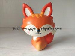 L'impression personnalisée Animal jouet Squishy Mousse de PU ralentir la hausse Squishy Fox jouet