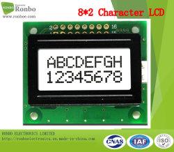 8X2文字LCDスクリーン、MCU 8bitのFSTN LCDのモジュール、穂軸LCM