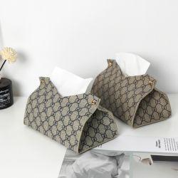 Home Verwendung Tissue Storage Serviettenhalter Dg Muster Tissue Paper Box Cover für Badezimmer