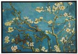 80X120cm Vincent Van Gogh, arti dipinte a mano sboccianti della tela di canapa di tela della riproduzione della pittura a olio dell'albero di mandorla 100% per la decorazione domestica