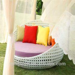 Base di giorno esterna del Bali del rattan della mobilia comoda del giardino