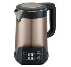 Elektrisches Gerät, das Milch, Honig, Kaffee, Tee-multi Getränkeelektronischer Kessel mit Temperatur-Bildschirmanzeige bildet