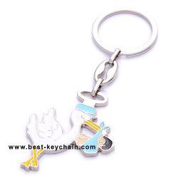 Swan Key Ring (BK11110)の金属Duck Shape Key Chain