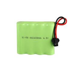 Batterie rechargeable NiMH AA 4,8 V personnalisé 2000mAh 2400mAh 2500mAh Batterie pour les jouets RC