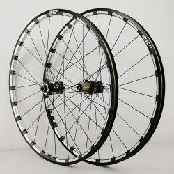 マウンテンバイクの自転車の車輪は26 「27.5-29」車輪の縁をセットした