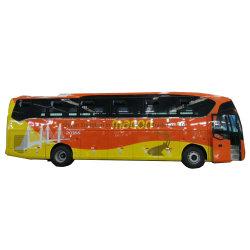 Bus diesel facente un giro turistico della vettura del nuovo 57 Seater dell'Africa passeggero interurbano di lusso di disegno per lo stato di strada difettoso