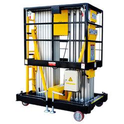移動式空気作業プラットホームの乗客の上昇の空気のプラットホームの倉庫装置の持ち上げ装置の電気機器の上昇表