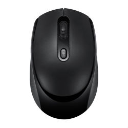 黒いビジネスオフィスのコンピュータキーボードおよびスマートで有効な携帯用 コンボマウス