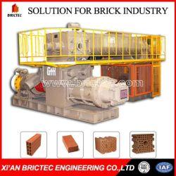 Vide de briques de haute capacité extrudeuse avec garantie pièces de rechange