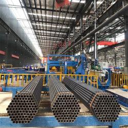 Diamter6/8/10/12inch ASTM A36 ISO65 finitura in tubo galvanizzato o nero lubrificato Estremità conica con tappi in plastica