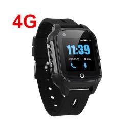 4G子供の老人のための個人的な3G SIMのカードGPRS GSMグループの心配GPSの腕時計の追跡者